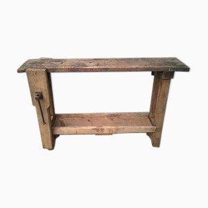 Vintage Werkbank aus Holz