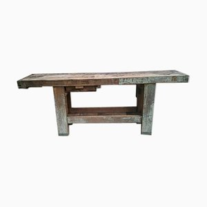 Vintage Wooden Work Table
