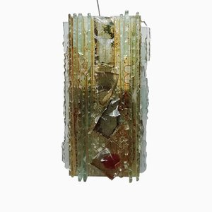 Glass Sconce by Willem van Oyen for Raak Amsterdam, 1970s
