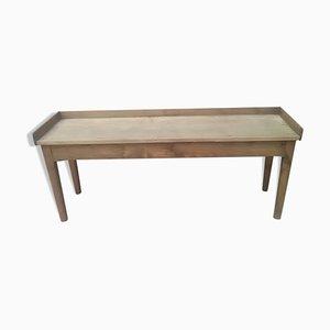 Mesa de comedor vintage de madera