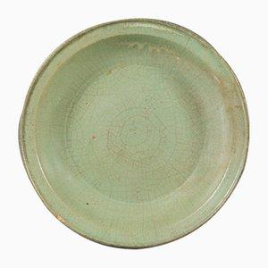 Plat Dynastie Ming Antique en Porcelaine, Chine