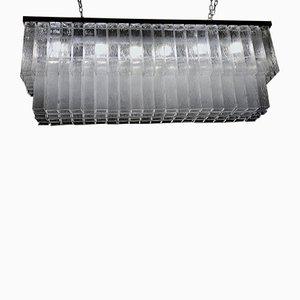 Lampada da soffitto grande di Toni Zuccheri per Venini, anni '60