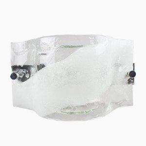 Aplique grande de cristal de Murano de Vetri Murano, años 60