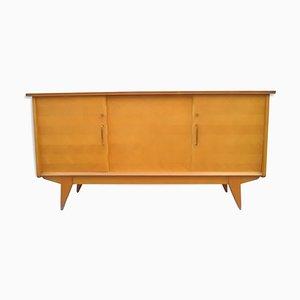 Vintage Oak Veneer Sideboard, 1950s