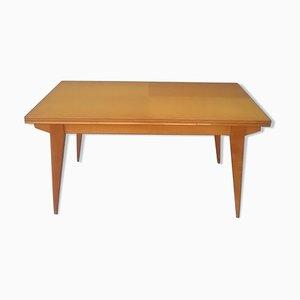 Ausziehbarer Tisch aus Eiche, 1950er