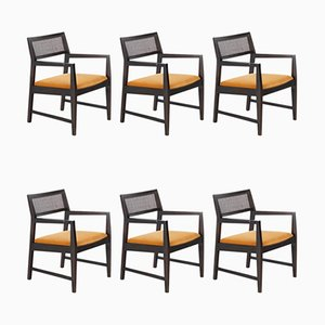 Mid-Century Dining Chairs by Edward Wormley for Dunbar, Set of 6
