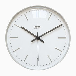 Bauhaus Style Clock from Diehl Junghans, 1970s