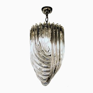Small Murano Glass Chandelier by Carlo Nason, 1980s