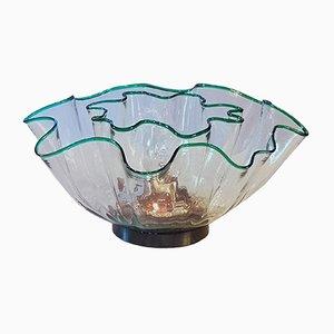 Deckenlampe von Adalberto Dal Lago für Vistosi, 1968