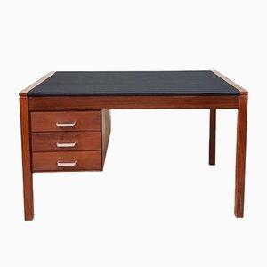 Industrieller Vintage Schreibtisch aus Teak, 1970er