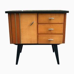 Kleiner Vintage Nachttisch, 1950er