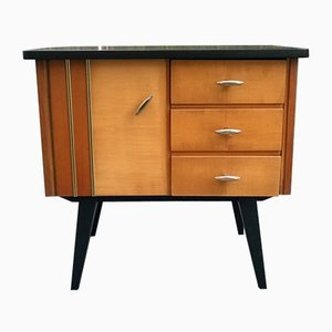 Small Vintage Nightstand, 1950s