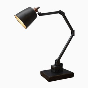 Industrielle Tischlampe von Memlite, 1950er