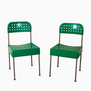 Dining Chairs by Enzo Mari for Castelli / Anonima Castelli, 1970s, Set of 2
