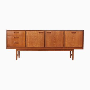 Teak and Birch Sideboard, 1960s