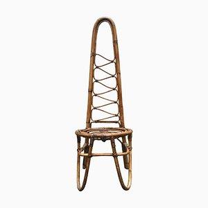 Mid-Century Bamboo Chair, 1960s