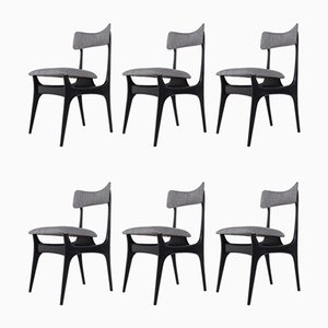 Model S3 Side Chairs by Alfred Hendrickx for Belform, 1950s, Set of 6