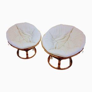 Mid-Century Lounge Chairs by Bonacina for Vittorio Bonacina, Set of 2