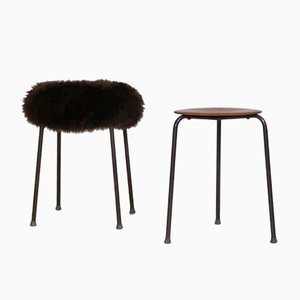Danish Stools, 1960s, Set of 2