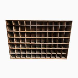 Vintage Pigeon Hole Shelf