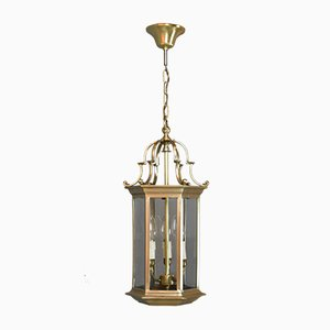 Antique French Hall Lantern, 1930s