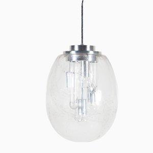 Lámpara colgante grande de Ger Furth para Doria Leuchten, años 60