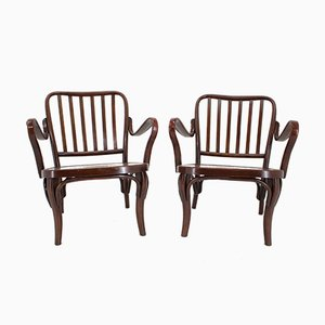 Model 752 Armchairs by Josef Frank for Thonet, 1930s, Set of 2