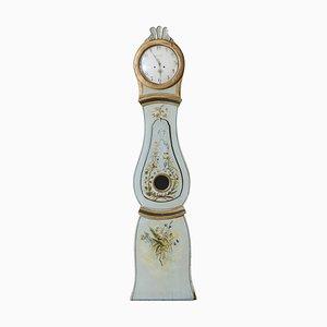 Antike schwedische Mora Uhr, 1760er