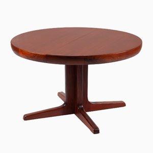 Tavolo da pranzo rotondo in teak di Niels Otto Møller per J.L. Møllers, Danimarca, anni '60