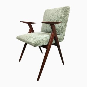 Chaise de Bureau Vintage en Palissandre par Luigi Vietti, Italie, 1950s