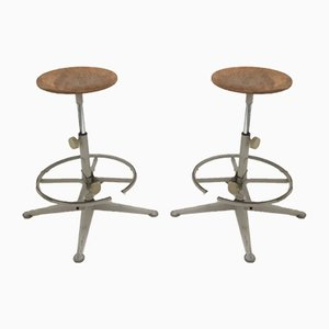 Stools by Friso Kramer for Ahrend De Cirkel, 1970s, Set of 2
