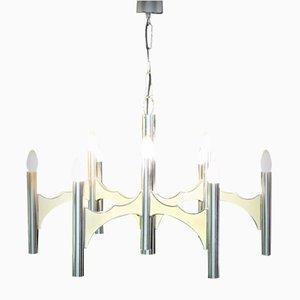 Lámpara de araña vintage de Gaetano Sciolari, años 60