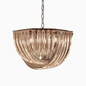 Vintage Chandelier by Carlo Nason for Crystal Triedri