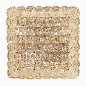Lámpara de techo vintage de vidrio