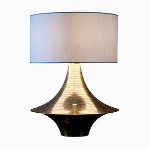 Lámpara de mesa italiana de latón, años 70