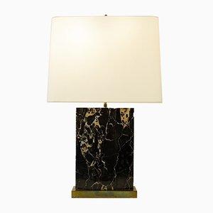 Lámpara de mesa vintage de mármol