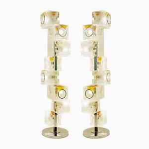 Italienische Stehlampe aus Muranoglas von Toni Zuccheri, 1970er