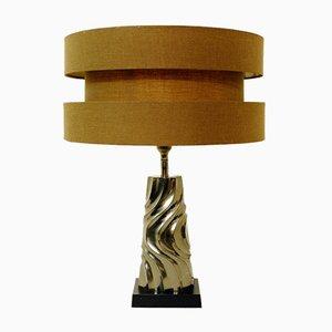 Lámpara de mesa vintage de metal