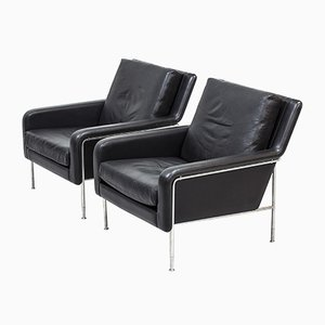 Lounge Chairs by Börge Lindau & Bo Lindekrantz for S-Hulta, 1960s, Set of 2