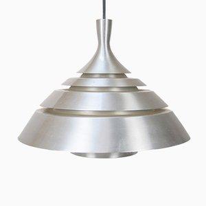 Danish Aluminum Pendant Lamp, 1960s