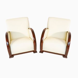 Art Deco Sofa and Armchairs Set from De Coene Freres, 1930s, Set of 3