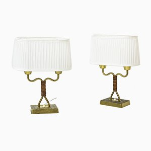 Table Lamps by Sonja Katzin for ASEA, 1940s, Set of 2