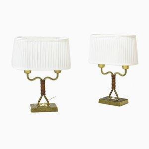 Tischlampen von Sonja Katzin für ASEA, 1940er, 2er Set