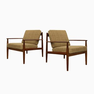 Mid-Century Armchairs by Grete Jalk for France & Søn / France & Daverkosen, 1960s, Set of 2