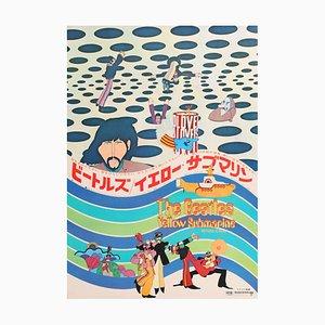 Poster del film The Beatles Yellow Submarine, 1969