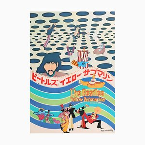 The Beatles Yellow Submarine Film Poster, 1969