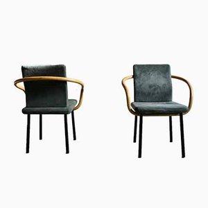 Postmoderner Armlehnstuhl von Ettore Sottsass für Knoll Inc. / Knoll International, 1980er