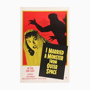 I Married A Monster from Outer Space Film Poster, 1958