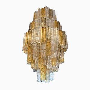 Kronleuchter aus Muranoglas von Toni Zuccheri für Venini, 1980er