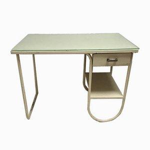 Kleiner Schreibtisch aus Metall, 1930er